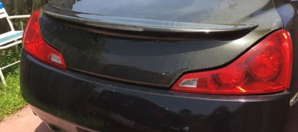 Infiniti G37 coupe taillights