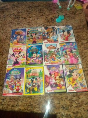 Mickey Mouse clubhouse dvds for Sale in Brandon, FL