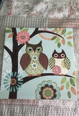 Owl canvas for Sale in Menifee, CA