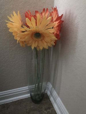 Summer Flowers & Tall Vase Zip Code 78261 for Sale in San Antonio, TX