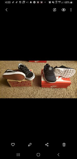 Nike and Vans size 6c..New Condition for Sale in Converse, TX
