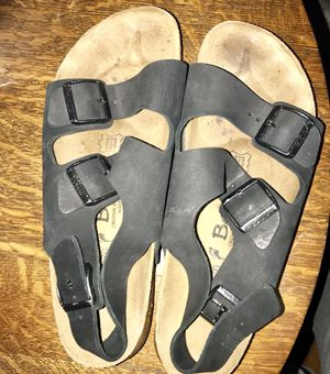 Birkenstock Betula sandals black for Sale in Hyattsville, MD