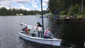 14' Windmill Sailboat with trailer for Sale in Snohomish, WA