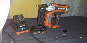 Rigid 18v nail gun for Sale in Nashville, TN