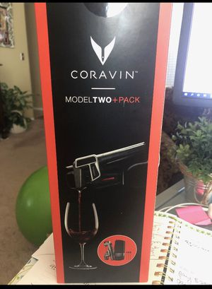 Coravin Model Two + Pack for Sale in Scottsdale, AZ