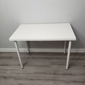IKEA LINNMON / ADILS white table / desk for Sale in Arlington, VA