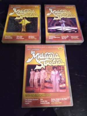 Midnight special DVDs ,plays and looks great safe pickup for Sale in Belleville, IL