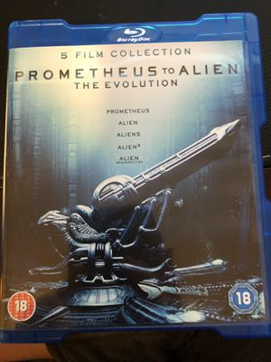 Prometheus to Alien Blue Ray set for Sale in Chapin, SC