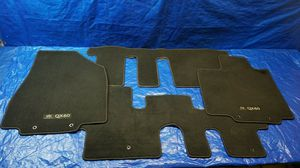 2014 - 2018 INFINITI QX60 CARPET FLOOR MATS RUGS LINERS SET BLACK # 32104 for Sale in Fort Lauderdale, FL