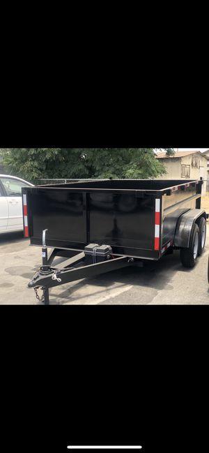 8x10x2 dump trailer for Sale in Colton, CA