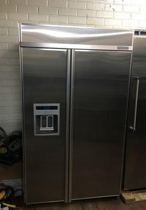 "Kitchen Aid 48"" Built In Fridge for Sale in Santa Clarita, CA"
