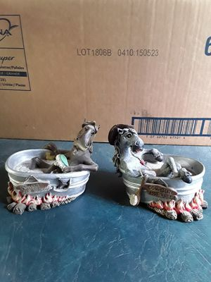 Horses in tub figurines. for Sale in Linden, PA
