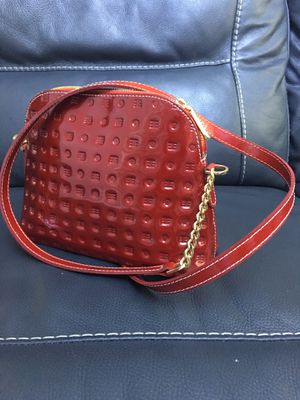 ARCADIA Patent Leather Red Shoulder Bag Messenger Crossbody .Made In Italy for Sale in Fruit Cove, FL