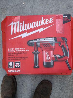 Milwaukee rotary hammer for Sale in San Jose, CA