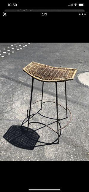 Wicker stool for Sale in Las Vegas, NV