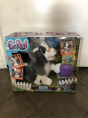 FurReal Friends Ricky animated stuffed dog toy for Sale in Coronado, CA