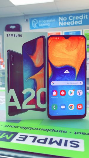Galaxy A20 32gb Unlocked! (T-Mobile, AT&T, Cricket, Metro!) for Sale in Fort Worth, TX