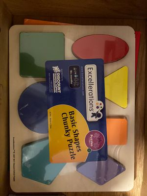 Brand new basics shapes chunky puzzle 18 months and up for Sale in Greenwich, CT