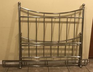 REDUCED FOR QUICK SALE- Queen Size Bed (Frame and Rails)- pick up only - No delivery for Sale in Temple, TX