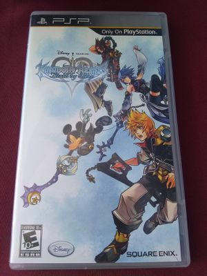Kingdom hearts psp for Sale in Carmichael, CA