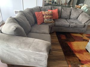 Large Gray Sectional Couch! $200 for Sale in Atlanta, GA