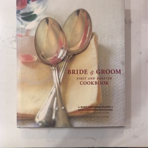 Bride & Groom First & Forever Cookbook for Sale in Seattle, WA