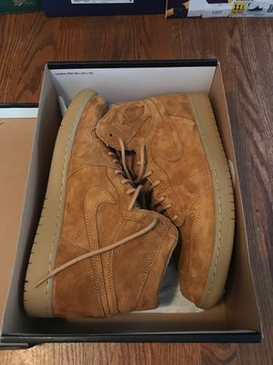 Nike Air Jordan 1 Wheat size 11.5 worn once for Sale in Cypress, CA