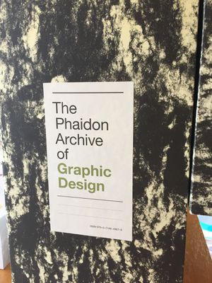 The phaidon Archive of Graphic Design for Sale in York, PA