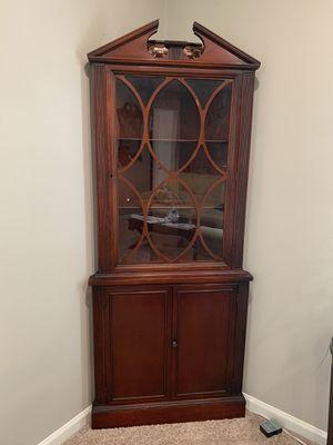 Antique corner cabinet for Sale in Springfield, VA