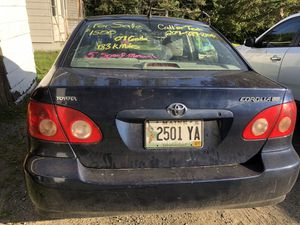 2007 Toyota Corolla 5 speed, inspected for Sale in Old Town, ME