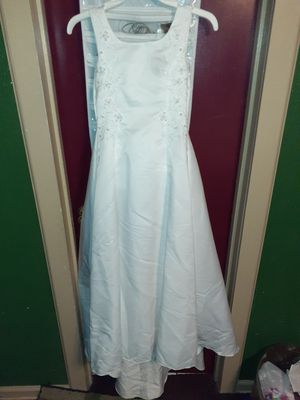 Little girls evening gown size 10 for Sale in San Antonio, TX
