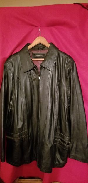 BLACK LEATHER JACKET for Sale in Modesto, CA