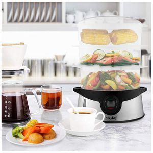Healthy Stainless Steel 3 Layers Electric Food Steamer Steam Cooker for Sale in Danville, PA
