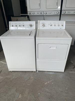 Washer and dryer gas kenmore good condition 90 days warranty lavadora y secadora gas kenmore buenas condiciones 90 dias de garantia for Sale in Oakland, CA