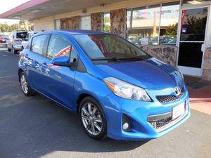 2013 Toyota Yaris SE hatchback low mileage for Sale in Fremont, CA