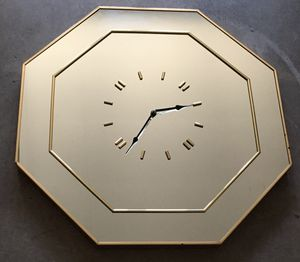 Glass Wall Mirror Clock for Sale in Douglasville, GA