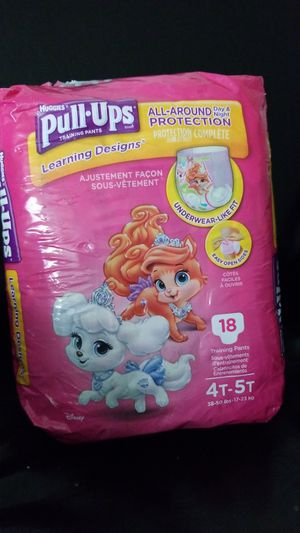 Huggies pull ups training pants 4t-5t 18 pk for Sale in McLean, VA