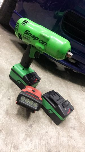 SNAP-ON 18v cordless impact with led light for Sale in Millersville, MD