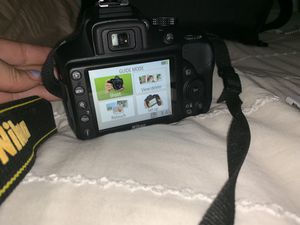 Nikon 3400 Camera - Two Lenses - Camera Bag - Battery Charger for Sale in Wakefield, MA
