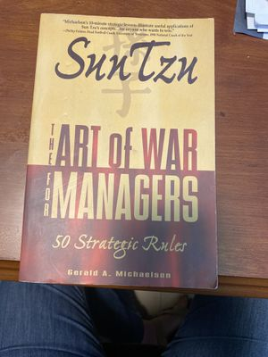 Sub Tzu Art of War for Managers for Sale in Miami, FL