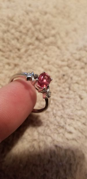 10k White Gold Ruby & Diamond Ring for Sale in Smyrna, TN