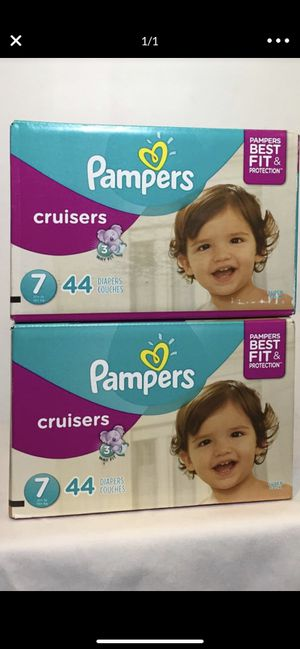 Pampers size 7. 👶👶👶 ——$23 each box for Sale in Hawthorne, CA