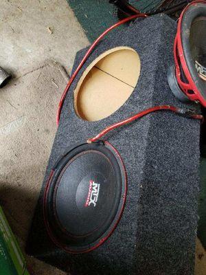 "MTX audio 12"" speakers for Sale in Columbus, OH"