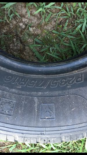 2 tires 16 inch truck tires for Sale in Kingsport, TN