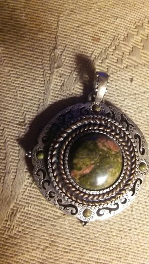 Chico's Pendant w/ natural Stone for Sale in Aloha, OR