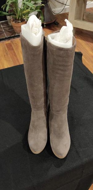 LUCKY BRAND WOMENS LEATHER BOOTS for Sale in Concord, CA
