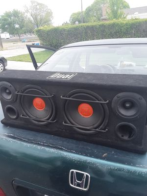 Dual professional subwoofers for Sale in Huntington, UT