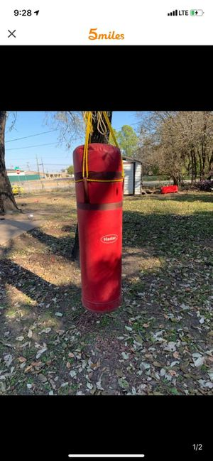 Punching bag for Sale in Dallas, TX