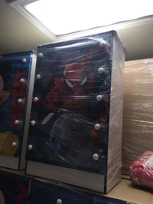 Brand new spider man themed compressed dresser for Sale in Westminster, CA
