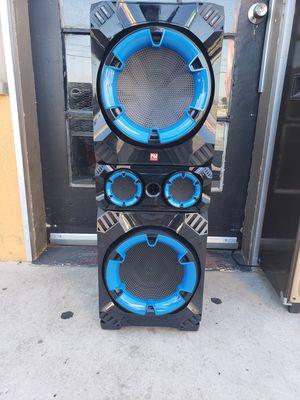 Bluetooth karaoke speaker/Bosnia Halloween special $100 for Sale in Fontana, CA